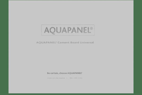 АКВАПАНЕЛЬ® Цементная плита Универсальная (6 мм) 1200х900 (1)