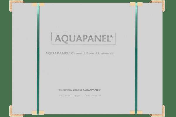 АКВАПАНЕЛЬ® Цементная плита Универсальная (6 мм) 1200х900 (5)